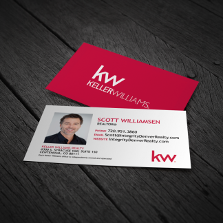 Agent store branding materials keller williams rockwall texas white kw business card wphoto mc552 reheart Choice Image